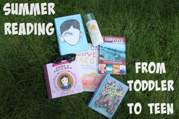 Summer Reading From Toddler To Teen | Denver Metro Moms Blog
