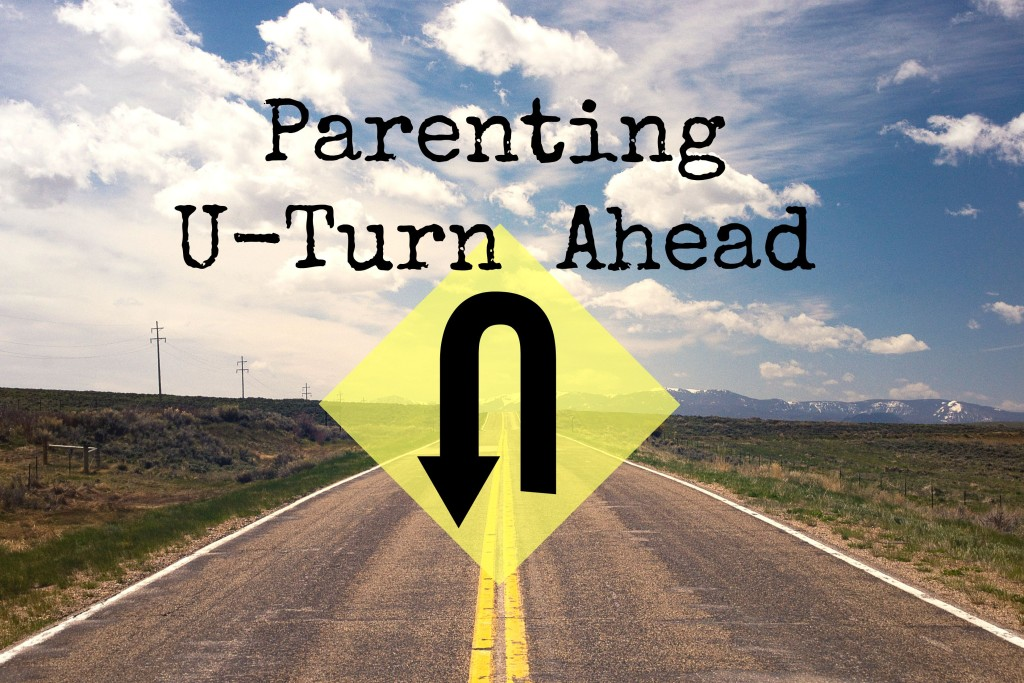 Parenting U Turn Ahead | Denver Metro Moms Blog