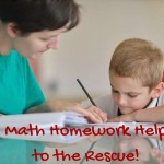 Math Homework Help to the Rescue!