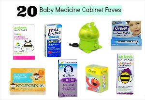 Baby Medicine Cabinet Must Haves | Denver Metro Moms Blog