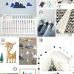 Etsy Finds : The Modern Mountain Nursery