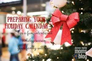 Preparing your Holiday Calendar
