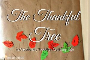 Thankful Tree | Denver Metro Moms Blog