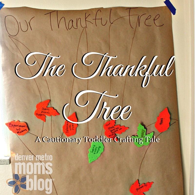 Thankful Tree | Denver Metro Moms Blog