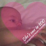 She's the One in 100: Congenital Heart Disease