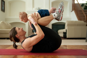 5 Simple Mom and Baby Exercises