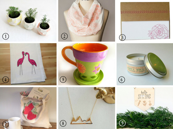 Etsy Spring Finds Collage
