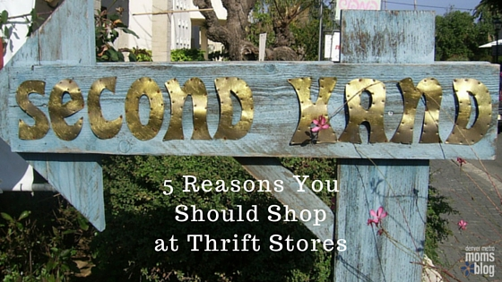 Five Reasons You Should Shop at Thrift Stores | DMMB