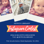 {Instagram Contest} #RaisingJeffcoReaders