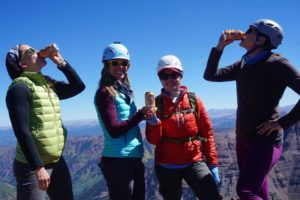 pumpkin beer on north maroon peak - the perfect way to celebrate