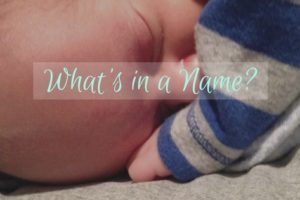 What's in a Name? | Denver Metro Moms Blog