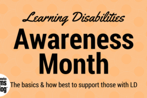 Learning Disability Awareness Month_