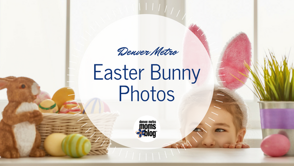 Photos with the Easter bunny in Denver