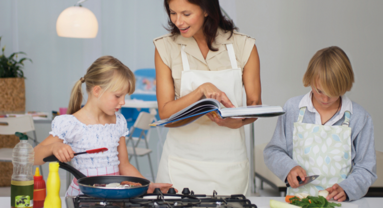 5 Tips for Getting Kids Cooking in the Kitchen