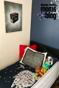 Star Wars Day Room Transformation | Denver Metro Moms Blog