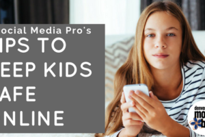 Tips on Keeping Kids Safe Online