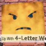 Breaking Up with 4-Letter Words