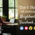 The 5 Stages of Posting on a Neighborhood Facebook Page